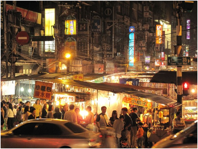 Keelung night market by Mustache / CC BY 2.0