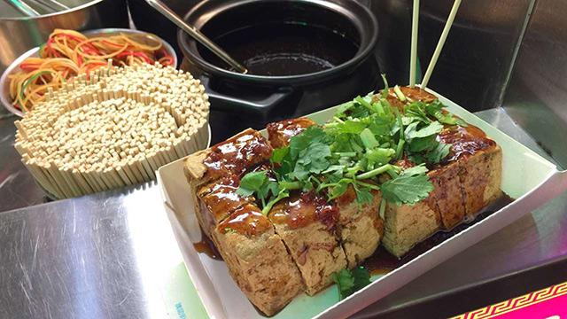 Taiwan-Sticky tofu