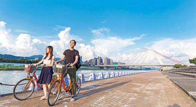 Riverside Bike Paths - Taipei City